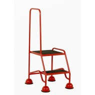 2 Tread Steps Classic Plus Colour with Single Handle