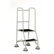 2 Tread Step Full Handrail Anti-Slip Treads