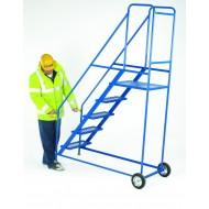 Tilt and Go Step Blue Expamet 3 Tread Platform Height 750mm